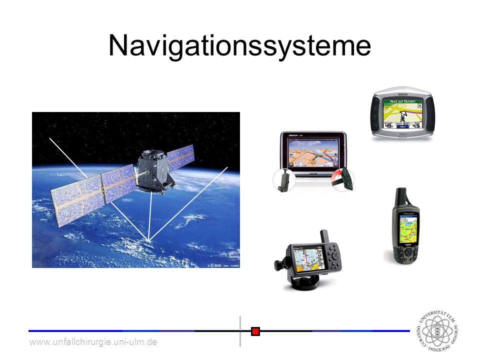 www.unfallchirurgie.uni-ulm.de Navigationssysteme
