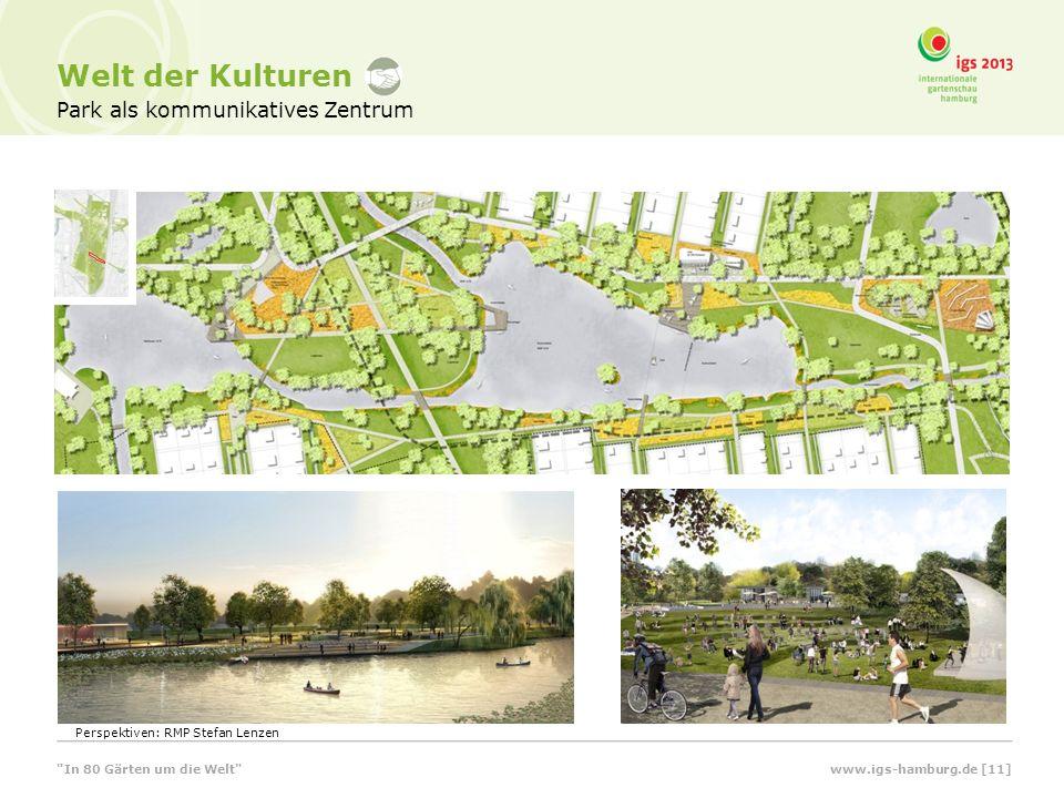 Park als kommunikatives Zentrum Welt der Kulturen Perspektiven: RMP Stefan Lenzen In 80 Gärten um die Welt www.igs-hamburg.de [11]