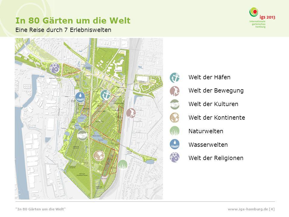 Ein Platz am Wasser Uferpark Reiherstiegknie In 80 Gärten um die Welt www.igs-hamburg.de [15]