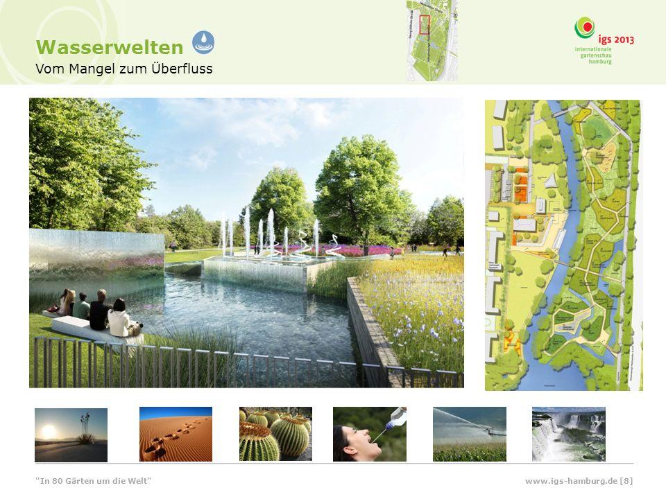 Wasserwerksterrassen und Kanuanlegestelle www.igs-hamburg.de [9] In 80 Gärten um die Welt