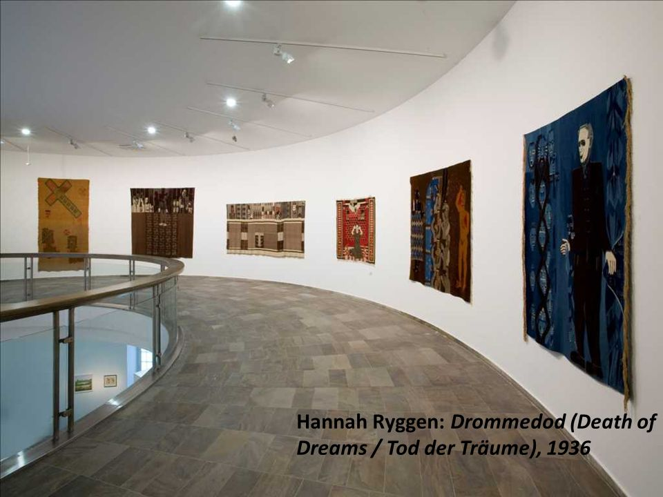 Hannah Ryggen: Drommedod (Death of Dreams / Tod der Träume), 1936