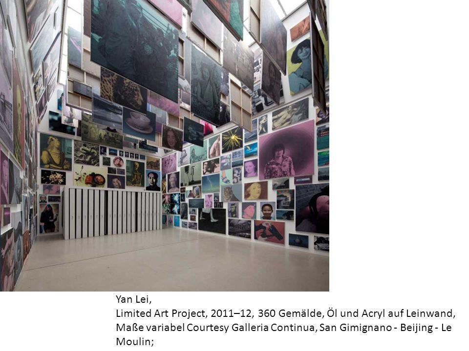 Yan Lei, Limited Art Project, 2011–12, 360 Gemälde, Öl und Acryl auf Leinwand, Maße variabel Courtesy Galleria Continua, San Gimignano - Beijing - Le Moulin;