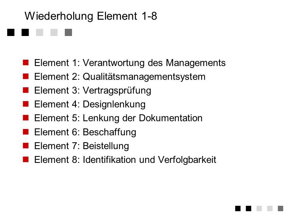 3.11.3Tätigkeiten 1.Festlegung der erforderlichen Prüfmittel 2.Beschaffung der Prüfmittel (intern/extern) 3.Ernennung eines Prüfmittelbeauftragten 4.D