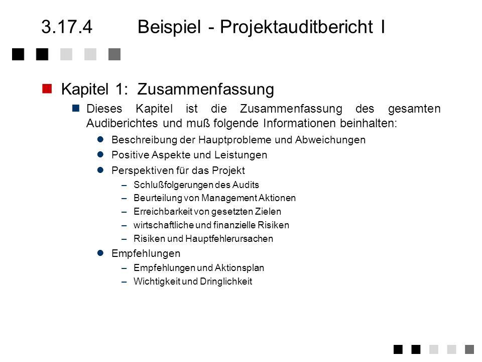 3.17.3Tätigkeiten 1.Planen von internen Audits / Erstellen und Aktualisieren des Auditplanes (Zeitplan) Vorabinformation für die Bereiche (Zweck, Abla