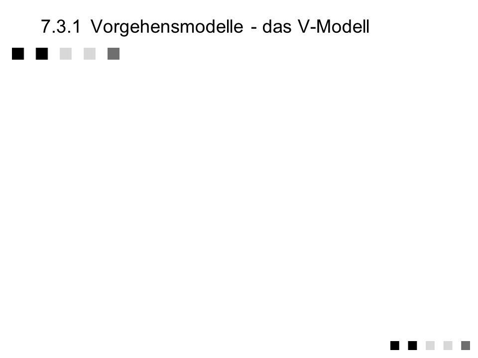 7.3Vorgehensmodelle