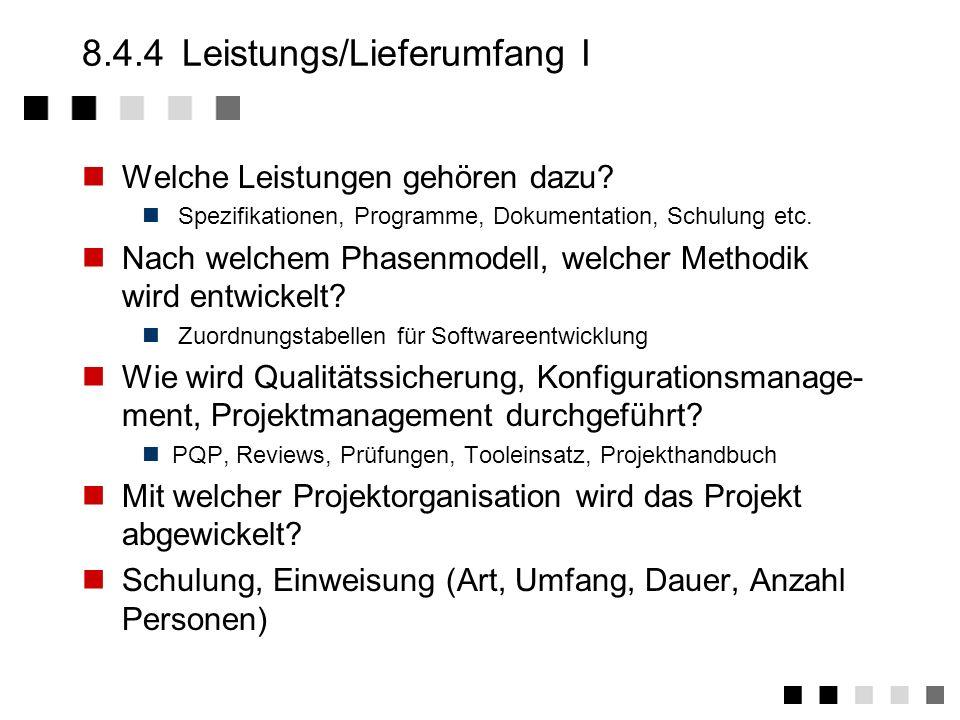 8.4.3Lösungsansatz Kompetenz zeigen, Interesse beim Kunden wecken Welchen Lösungsansatz wird dabei verfolgt Vorgeschlagene Konzeption Konzeptübersicht