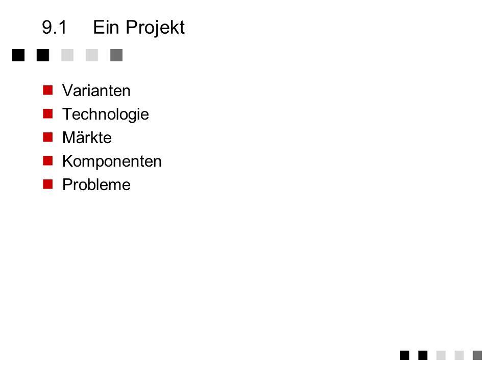 Kapitel 9Praktische Elemente - Konfiguration Ein Projekt Aufgaben Beispiele Einsatz-Organisation Zusammenfassung