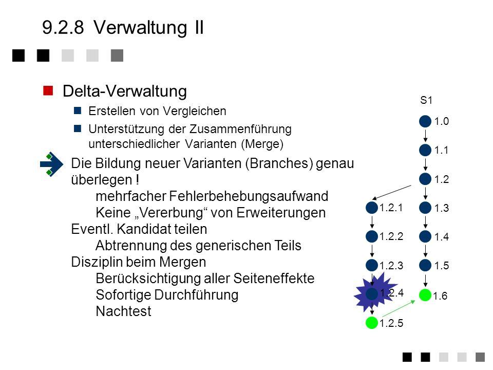 9.2.8Verwaltung I Benutzerverwaltung Einrichten, Ändern und Löschen von Benutzerprofilen, z.B. Benutzerkonten Kennwörter Zugriffsrechte Administration