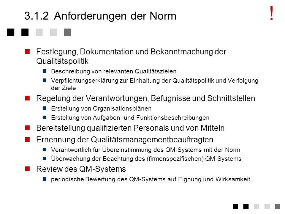 3.1.1Ziel und Inhalt Definition eines Systemes zur kontinuierlichen Verbesserung (KVP: Kontinuierlicher Verbesserungsprozess) Definition der für ein U