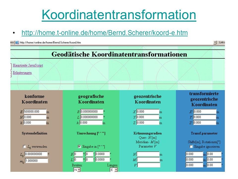 Koordinatentransformation http://home.t-online.de/home/Bernd.Scherer/koord-e.htm
