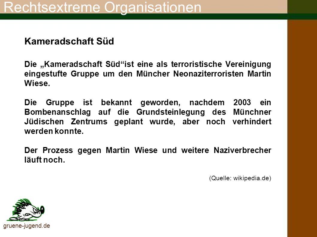 Rechtsextreme Organisationen Hilfsorganisation für nationale politische Gefangene und deren Angehörige e.V.