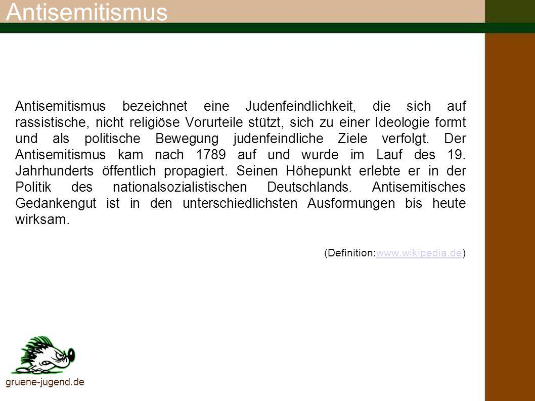 Antisemitismus Studie Deutsche Zustände – Zum Thema Antisemitismus.