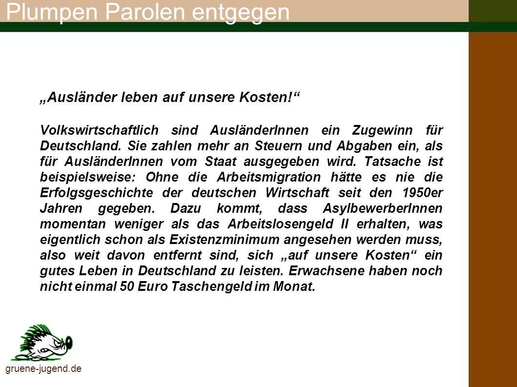Du kannst aktiv werden Rechts im Netz melden www.hagalil.com gruene-jugend.de