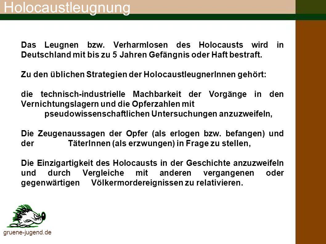 Rechtsextremismuspotential (Quelle: Verfassungsschutzbericht 2003, S. 29) gruene-jugend.de