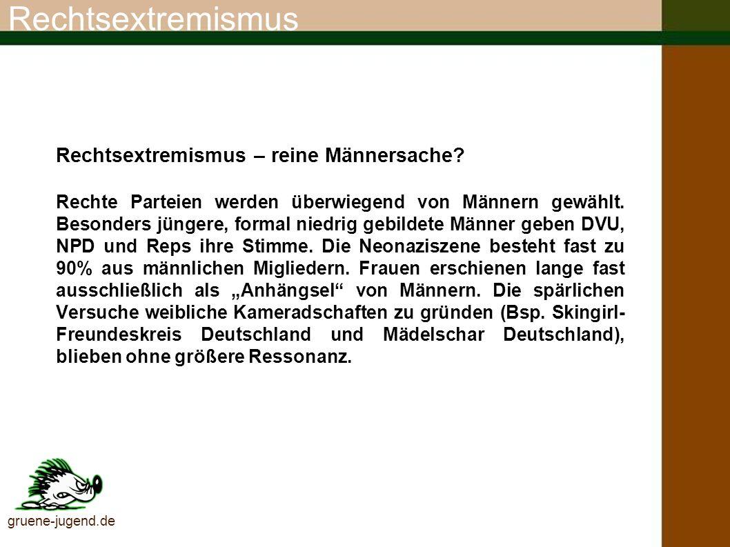 Rechtsextremismus Brauner Osten.