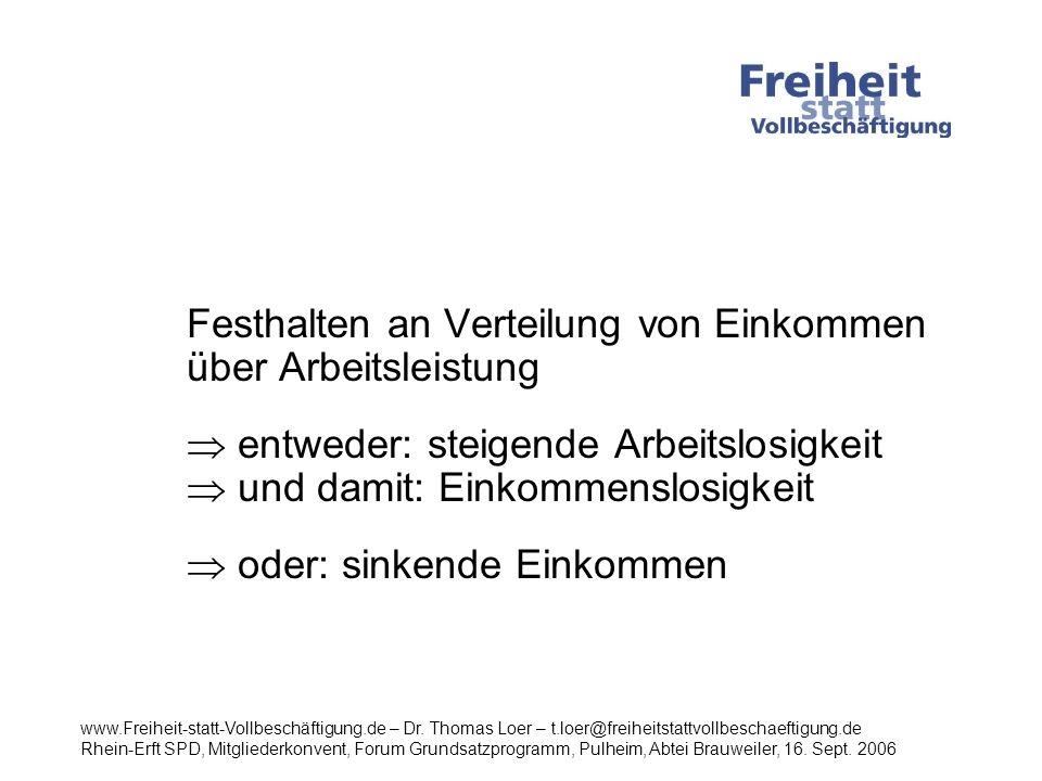 Erwerbstätigkeit www.Freiheit-statt-Vollbeschäftigung.de – Dr.