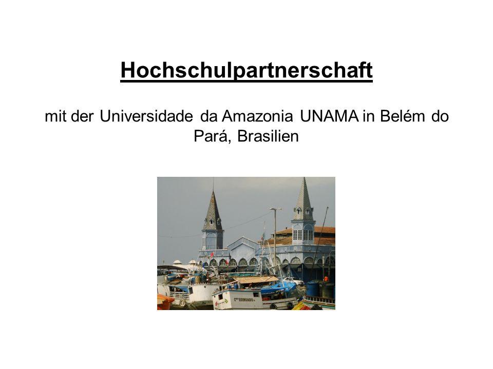 Die Partner Evangelische Fachhochschule Rheinland- Westfalen-Lippe Evangelische Hochschule Freiburg Universidade da Amazonia UNAMA