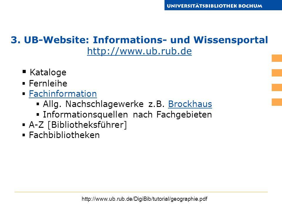 Kataloge Fernleihe Fachinformation Allg. Nachschlagewerke z.B. BrockhausBrockhaus Informationsquellen nach Fachgebieten A-Z [Bibliotheksführer] Fachbi
