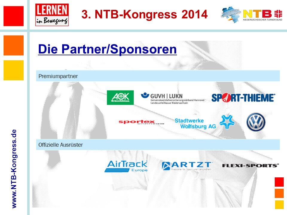 www.NTB-Kongress.de 3. NTB-Kongress 2014 Die Partner/Sponsoren