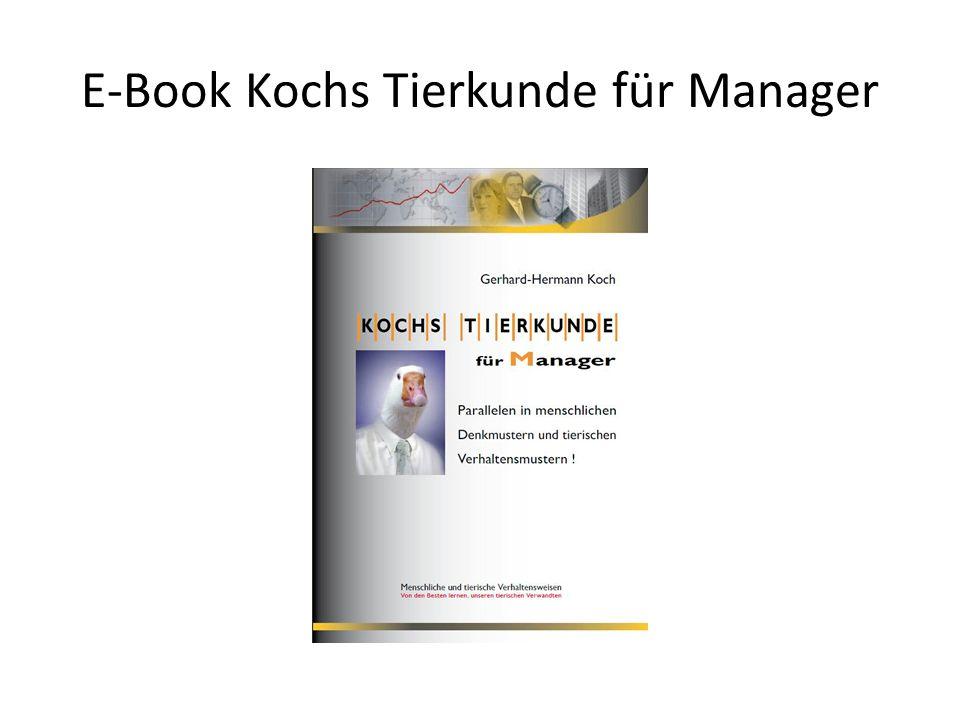 E-Book Kochs Tierkunde für Manager