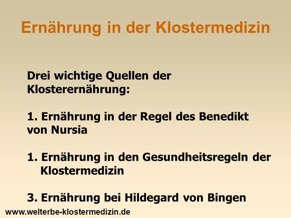 Der Klostertisch: Getreide Ältestes Getreide: Gerste -Höchster Zuckeranteil, viele Mineralien.