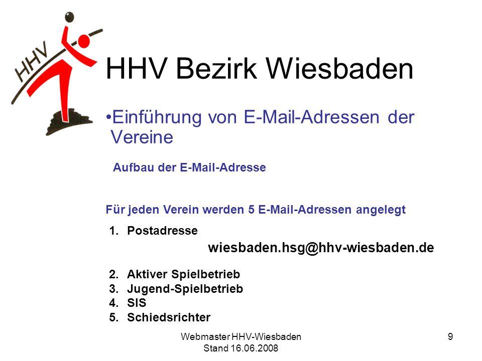 HHV Bezirk Wiesbaden Versenden von Word-Dokumenten Wie kann ich grundsätzlich auf das Format Word 97-2003 (*.doc) umstellen.