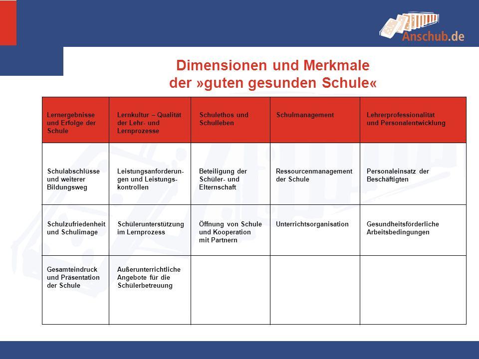 Anschub - Phasen 2002 2003 2004 - 2007 ab 2007 VorbereitungDurchführung Transfer III.