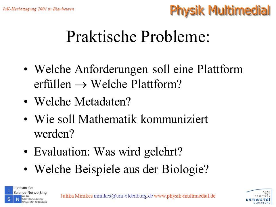 15 Praktische Probleme: Welche Anforderungen soll eine Plattform erfüllen Welche Plattform.