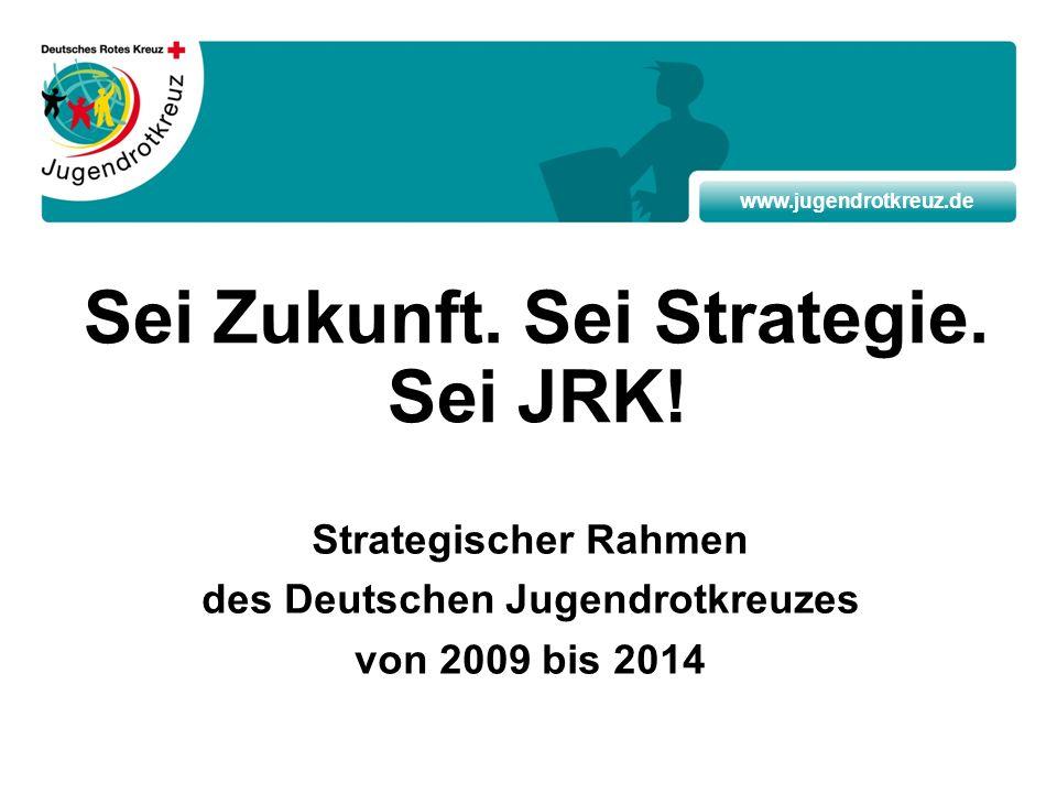 www.jugendrotkreuz.de Sei Zukunft. Sei Strategie. Sei JRK! Strategischer Rahmen des Deutschen Jugendrotkreuzes von 2009 bis 2014
