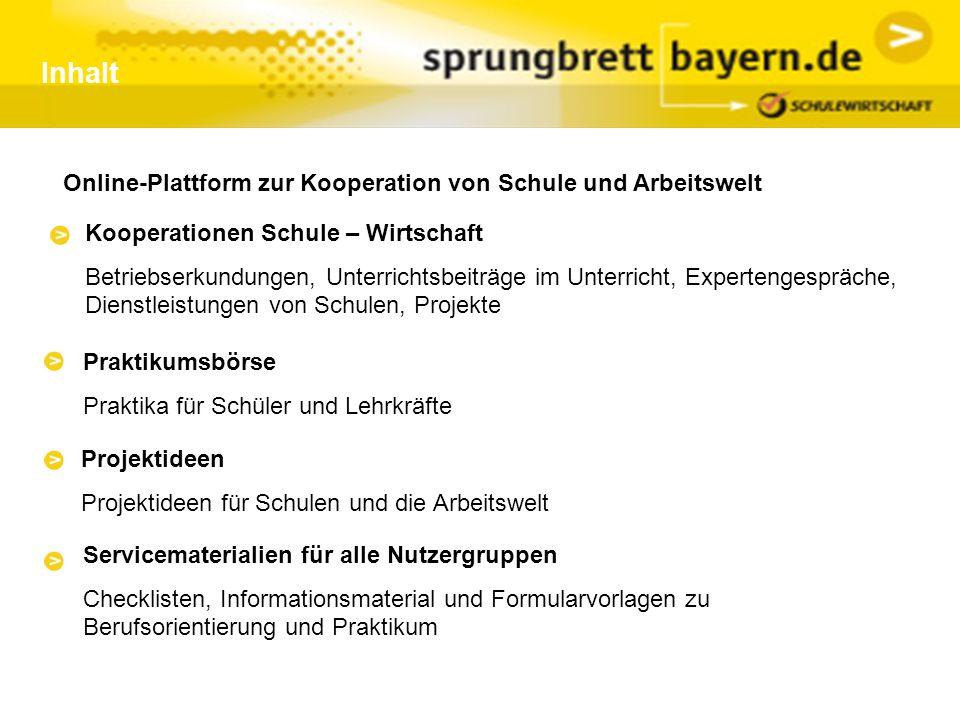 Kontakt: Projektträger: Bildungswerk der Bayerischen Wirtschaft e.