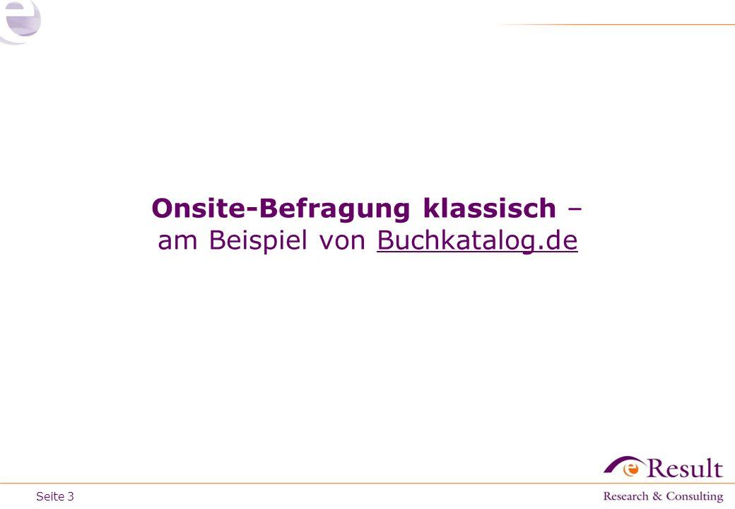 Seite Onsite-Befragung klassisch – am Beispiel von Buchkatalog.de 3