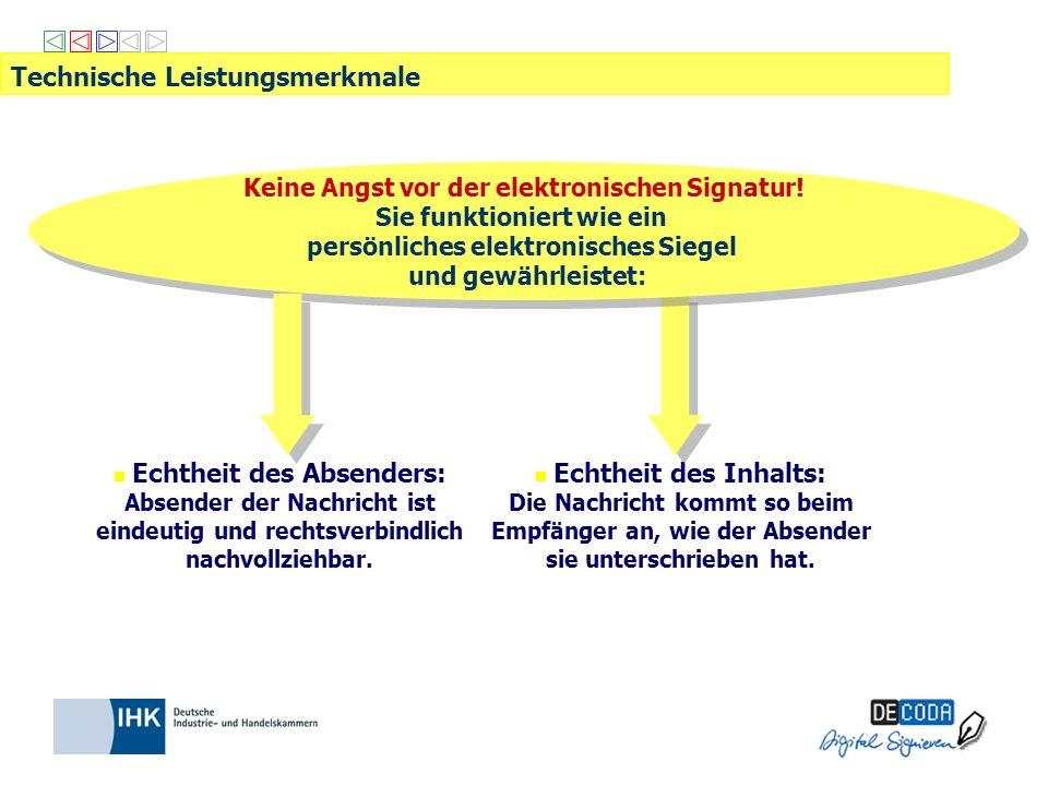 IHK-Signaturkarte kann eingesetzt werden bei Länder eANV: www.zks-abfall.de (zentrale, kostengünstige Lösung der öffentlichen Verwaltung) Abfallmanagementsysteme kommerzieller Anbieter: Modawi: www.modawi.de Zedal: www.zedal.de Nsuite: www.nsuite.de eANV Portal: www.fum.de Einsatz der elektronischen Signatur beim eANV