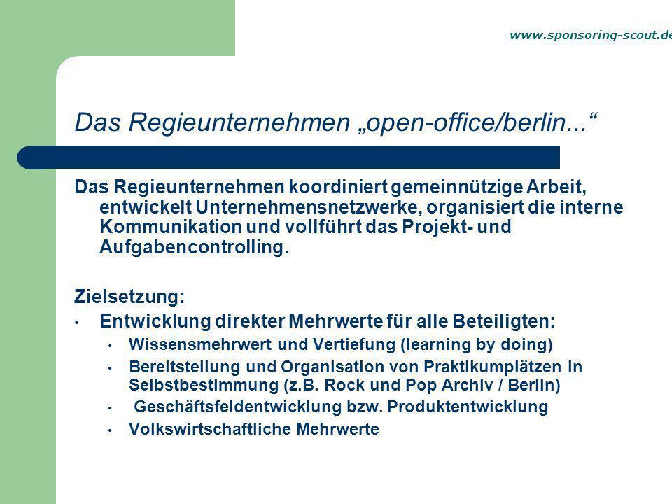 Unternehmensorganigramm www.sponsoring-scout.de
