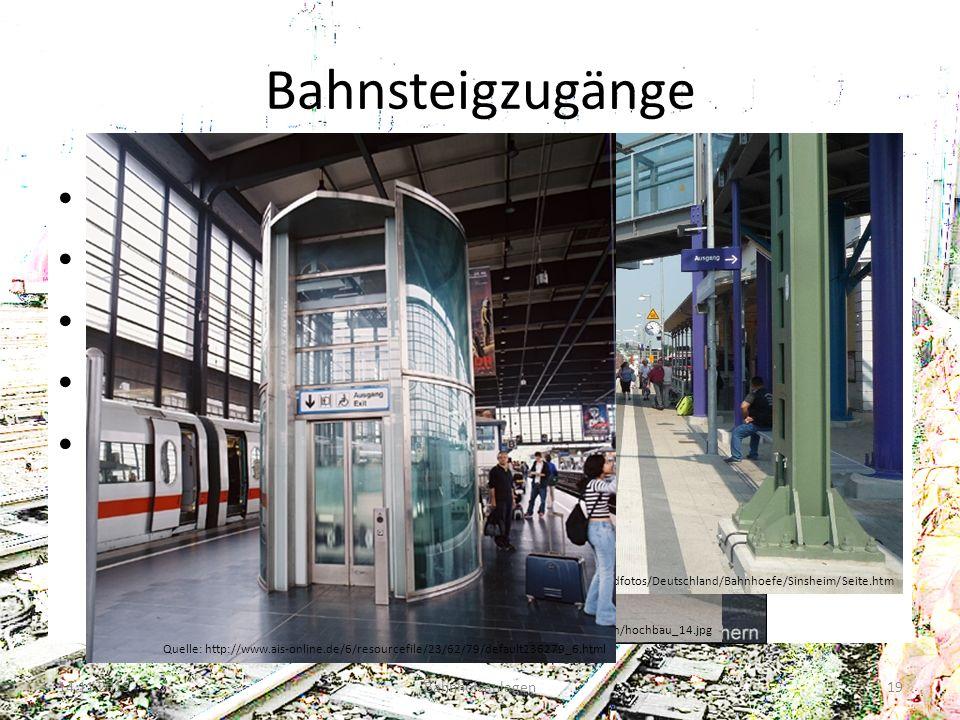 Bahnsteigzugänge Reisendenüberweg Bahnübergang Unterführung Überführung Aufzug 14.11.2013Bahnhofsanlagen19 Quelle: http://www.tssf.eu/forum/index.php?