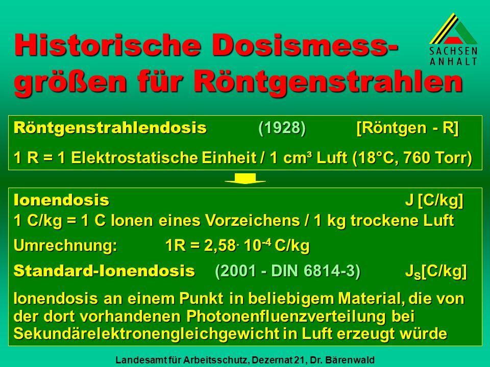 Landesamt für Arbeitsschutz, Dezernat 21, Dr.