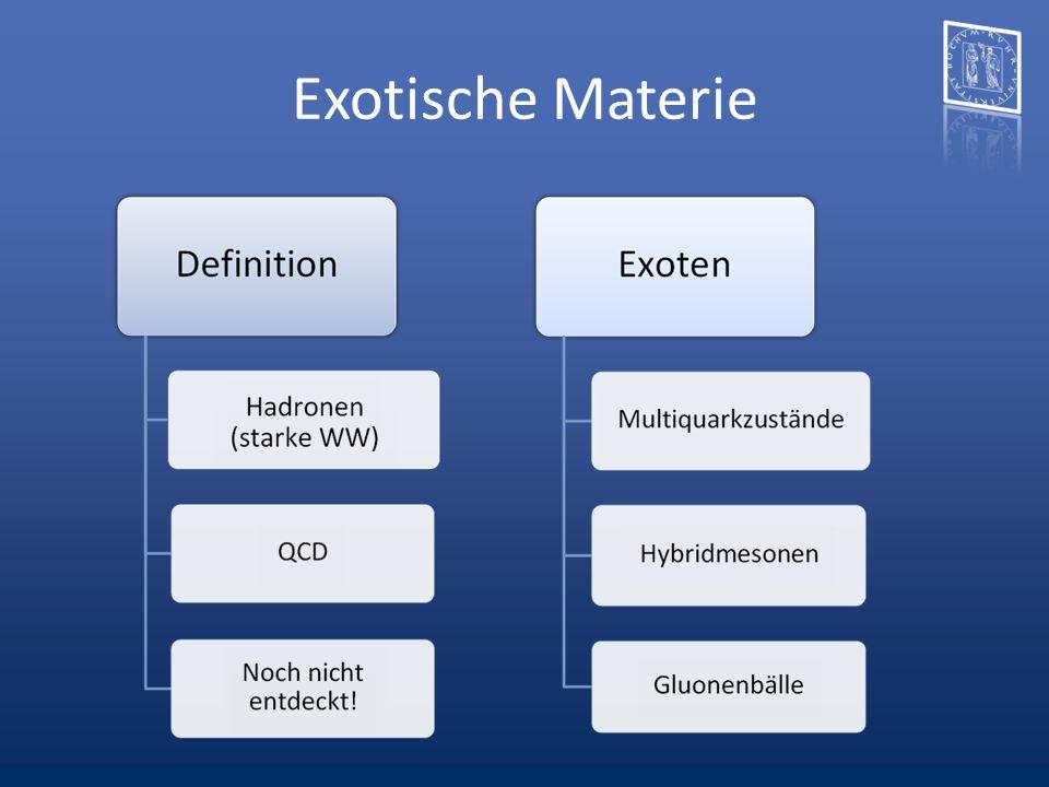 Exotische Materie