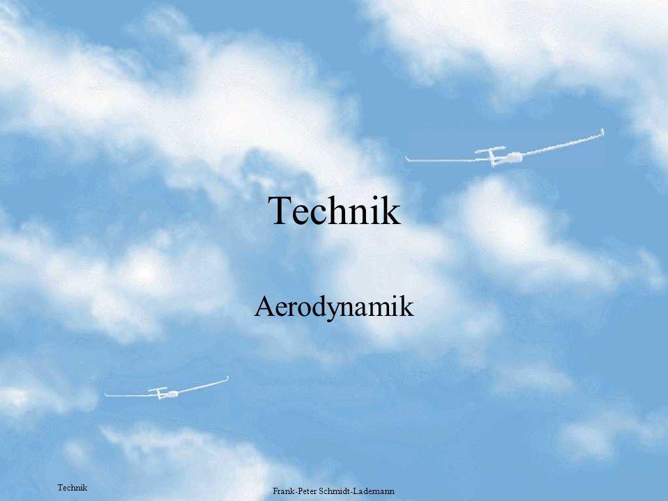 Technik Frank-Peter Schmidt-Lademann Technik Aerodynamik