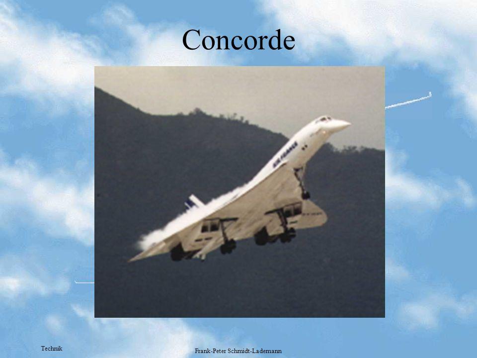 Technik Frank-Peter Schmidt-Lademann Concorde