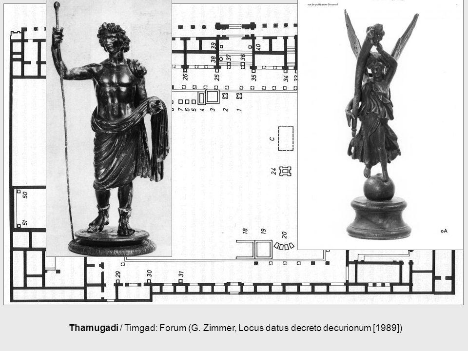 Thamugadi / Timgad: Forum (G. Zimmer, Locus datus decreto decurionum [1989])