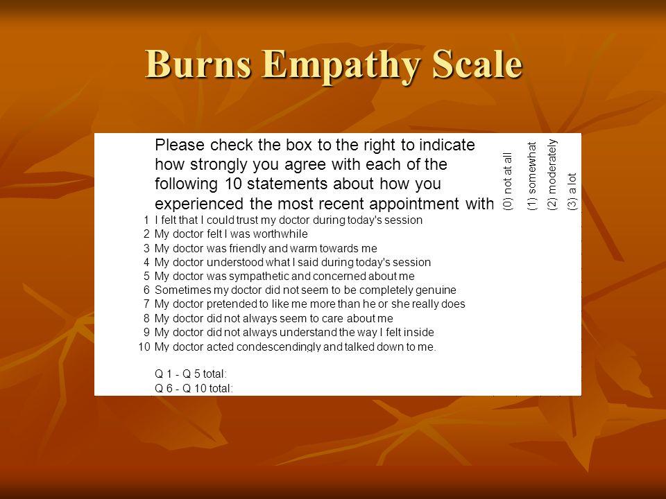 David Burns 3 Schritte zur De- eskalation …rupture-repair Regelmäßig evaluieren Regelmäßig evaluieren … während der Sitzung und am Ende … während der Sitzung und am Ende Empathie zeigen: …es stimmt Sie ärgerlich… Empathie zeigen: …es stimmt Sie ärgerlich… Unstimmigkeiten schlichten Unstimmigkeiten schlichten Validierung: …ja, es ist wirklich ganz schön frustrierend ist wenn… Validierung: …ja, es ist wirklich ganz schön frustrierend ist wenn… Verantwortung übernehmen: …da stimme ich Ihnen zu.