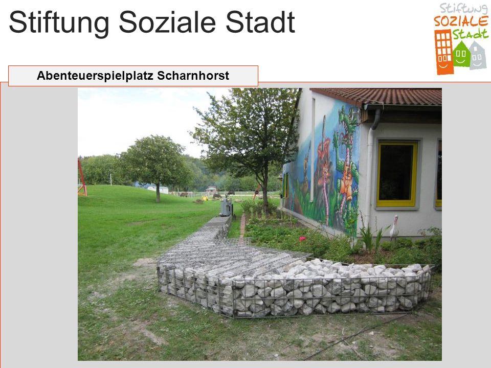 Stiftung Soziale Stadt Abenteuerspielplatz Scharnhorst