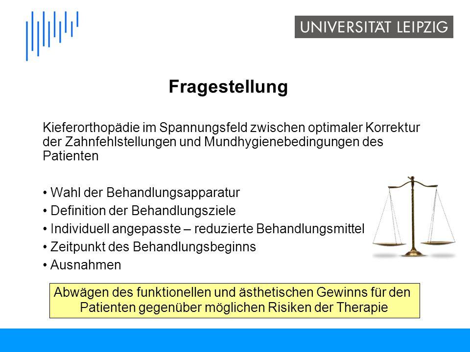 herausnehmbar oder festsitzend Wahl der Behandlungsapparatur Schlagenhauf U, Tobien P, Engelfried P.