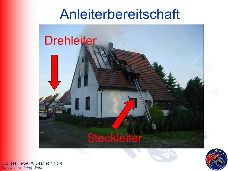 B. Lüssenheide / K. Desmet/ I. Horn Kreisfeuerwehrtag Wehr Anleiterbereitschaft