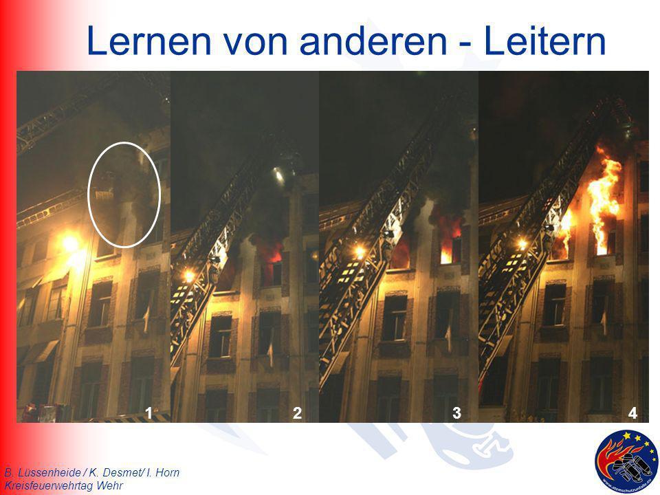 B. Lüssenheide / K. Desmet/ I. Horn Kreisfeuerwehrtag Wehr Simulierter Backdraft (Skövde/Schweden)