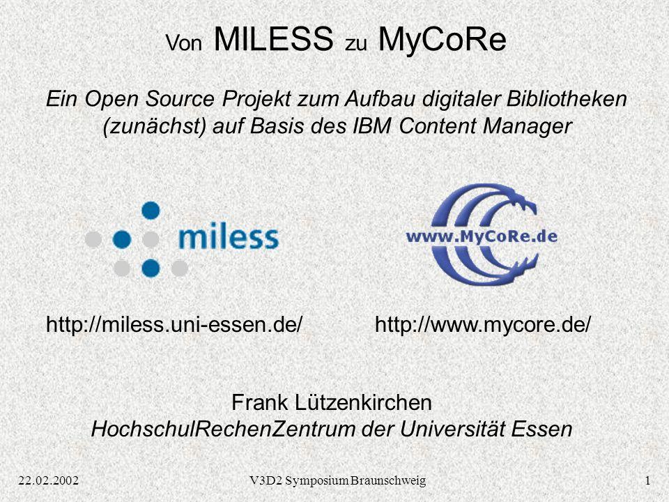 3222.02.2002V3D2 Symposium Braunschweig Vielen Dank für Ihre Aufmerksamkeit.