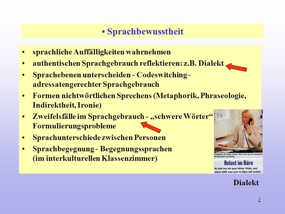 © Günther Einecke 20061 Sprachaufmerksamkeit und Sprachkritik Sprachbewusstheit Kritik des Sprachgebrauchs Kritik des Kommunikationsverhaltens Stilkri