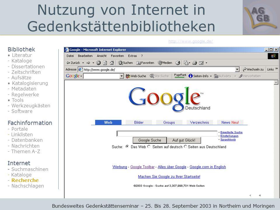 http://www.google.de/ Bundesweites Gedenkstättenseminar – 25.