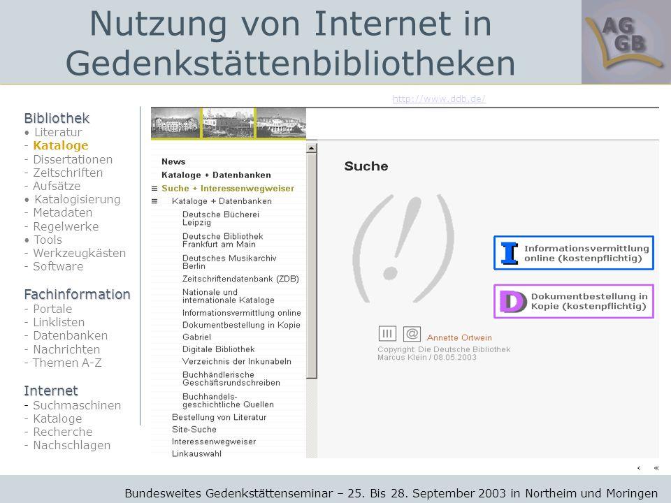 http://www.ddb.de/ Bundesweites Gedenkstättenseminar – 25.