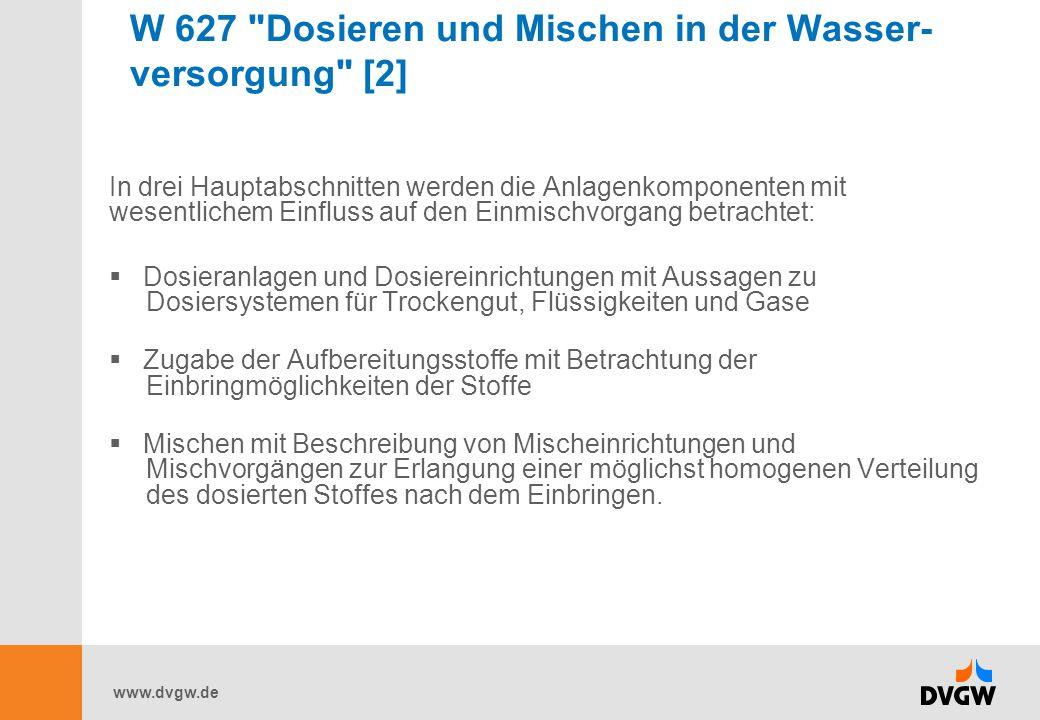 www.dvgw.de W 544 Kunststoffrohre in der Trinkwasser- Installation [1] Das DVGW-Arbeitsblatt W 544 enthält Anforderungen und Prüfungen des DVGW für die Anwendung der Kunststoffrohre für Kalt- und Warmwasser innerhalb der Hausinstallation.
