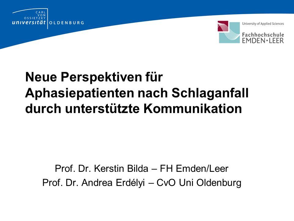 Neue Perspektiven für Aphasiepatienten nach Schlaganfall durch unterstützte Kommunikation Prof.